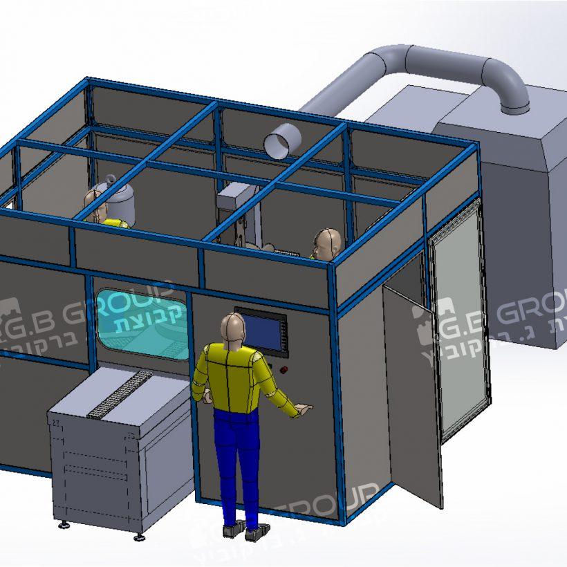 image project - מכונת גימור מדויקת – ליטוש והשחזה