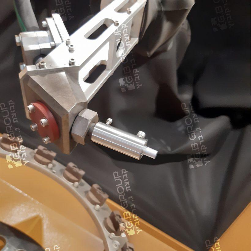 image project - מכונת שוט פינינג (SHOT PEENING)