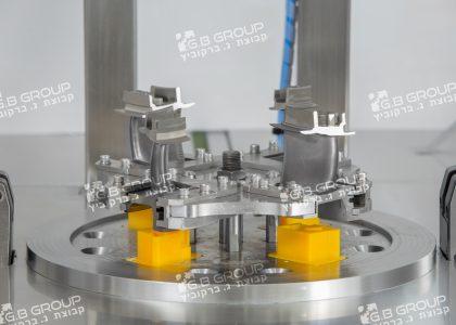 מכונת שטיפה  ללהבי מנועי טורבינה